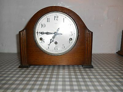 Oak  Enfield Mantle Clock