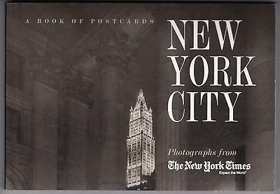 New York City: Photographs from The New York Times ... book of 30 B&W postcards