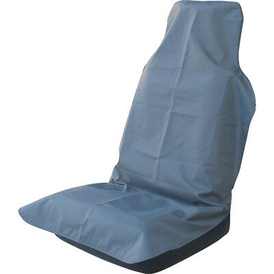 Hdd Technicians Universal Front Grey Seat Cover