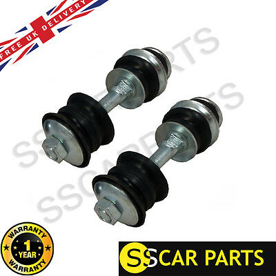 2Pc X Toyota Yaris 1.0 1.3 1.4 Front Anti Roll Bar Link With Bushes (Lh/rh) Pair