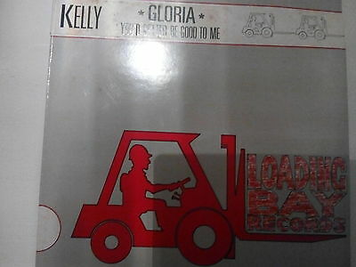 Kelly:Better Be Good To Me 12 inch single Eurovision Loading Bay Records.