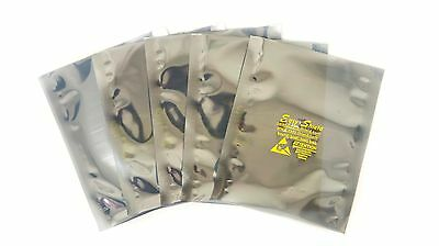 "50 ESD Anti-Static Shielding Bags, 4""x6""in (Inner Diameter),Open-Top, 3.1mil"