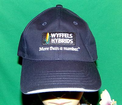 Wyffels Hybrids, More than a number, Embroidered Baseball Cap, Farmers Hat
