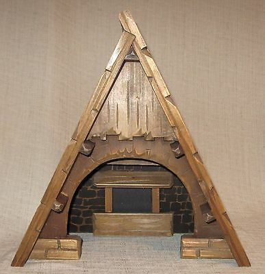 Anri Wooden Nativity Stable
