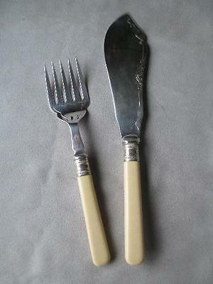 Great Fish Serving Knife And Fork