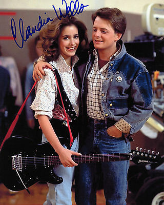Claudia Wells - Jennifer Parker - Back to the Future - Signed Autograph REPRINT
