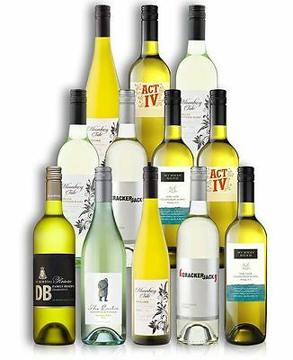 Sensational White Wine Mix Case (12 Bottles)