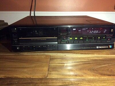 EXTREMELY RARE! Pioneer VE-D70 8MM Cassette Recorder!