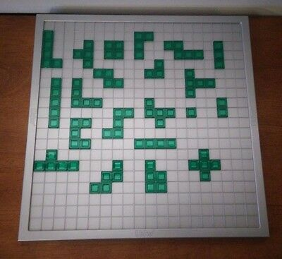 Blokus Strategy Game 21 Green Bricks Pieces Complete Set Replacement Parts