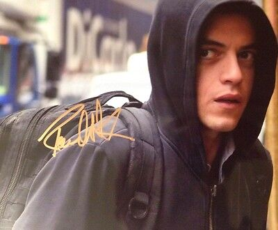 Mr Robot Tv Series Hand Signed Autograph Picture With COA Certificate Authentic