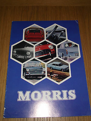 Morris Mini Minor Oxford 1100 Sales Brochure