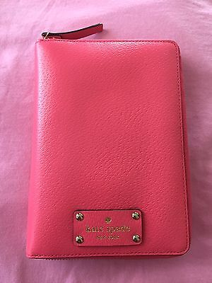 Kate Spade Sweetheart Pink Zip Around Planner with 2016 Inserts