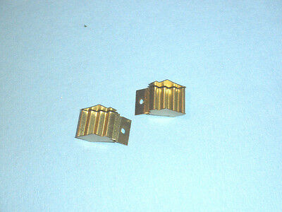 2 (1 Pair) American Flyer Standard Gauge Pre-War Brass Steps for Passenger cars