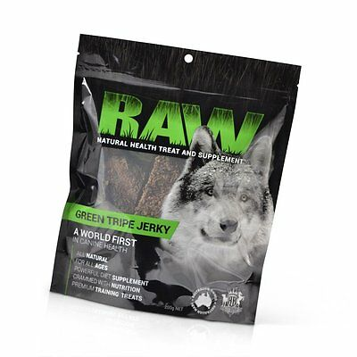 R.A.W Dried Green Tripe Dog Treats