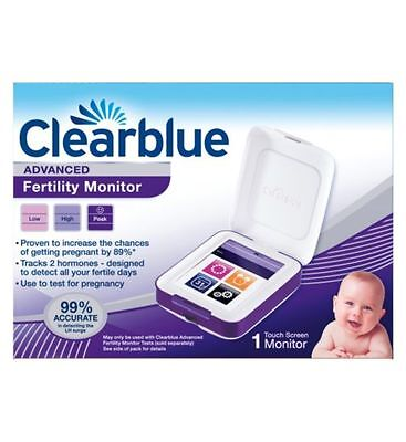 *new* Clearblue Advanced Fertility Monitor New Sealed 100% Genuine