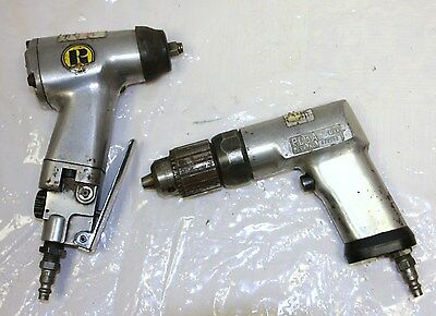 Snap-on PD3 A Drill & Rockford Mod.125  3/8Impact Wrench