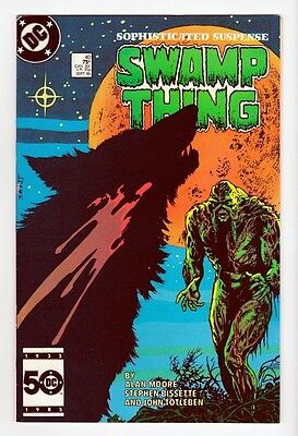 DC Comics Swamp Thing Volume 2 #40 1985 VF 8.0 Alan Moore John Constantine LI-02