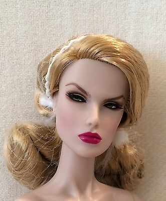 Integrity Toys Supermodel Convention Diva Dasha Nude Doll Extra Hands & Coa