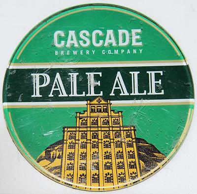 Collectible Cascade Pale Ale Acrylic Tap Top Badge - Exc..............ref 1