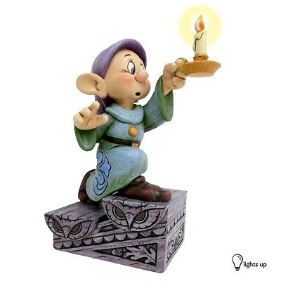 Dopey A Light In The Dark Jim Shore DISNEY TRADITIONS Figurine NEW 4043642