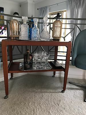 mid century Cocktail Trolley