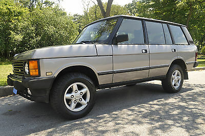 1995 Land Rover Range Rover 25th Anniversary Edition Sport Utility 4-Door 1995 Land Rover Range Rover Classic LWB 25th Anniversary 1 of 250 ever made 4.2L