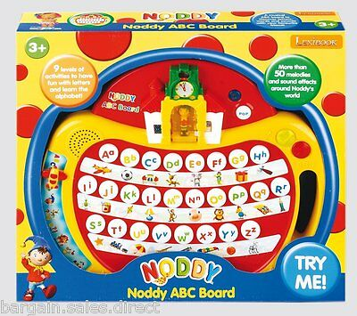 Noddy Kids 50 Melodies Abc & Word Learning Music  Board With Noddy Voice