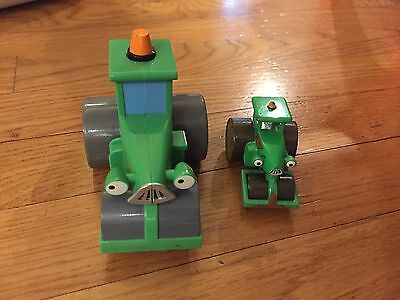 Bob the Builder Take Along Diecast steam roller and plastic