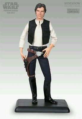 Sideshow - HAN SOLO -  Premium Format - STAR WARS  1/4 Scale Figure - MINT