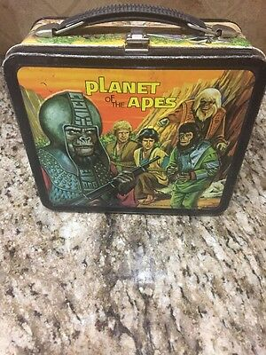 Vintage Planet Of The Apes Metal Lunchbox.