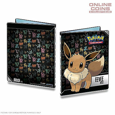ULTRA PRO Pokemon 9 Pocket Portfolio Eevee A4 Holds up to 180 Cards
