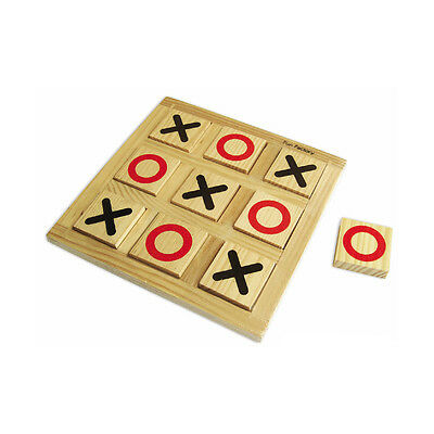 NEW Wooden Noughts & Crosses Learning  Educational Toy Kids Childrens Toys