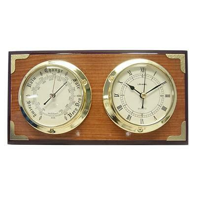 Stunning Barometer and Clock with Antique Finish  (FS-QB12272)