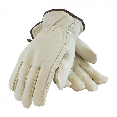 Cowhide Leather Work Gloves w/ Keystone Thumb Size Small to 2XL FREE SHIPPING