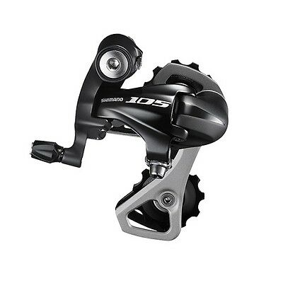 Shimano 105 RD-5701-SS Road Bike 10-speed Short Cage Rear Derailleur - BLK (Box)