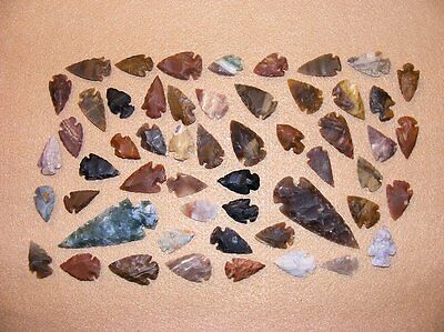 50+ Arrowhead collection Part of Huge Texas Estate stone flint bs-art 1-1300