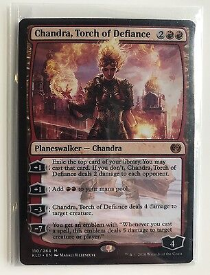 Mtg Magic The Gathering Kaladesh: Chandra Torch Of Defiance - Mint Condition