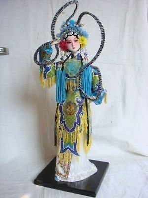 Oriental Broider Doll,Chinese Old style figurine China opera statue