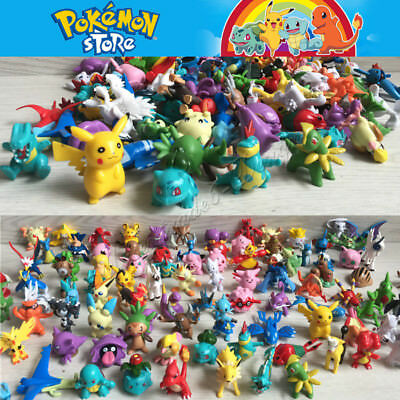 24/144 Mixed Pokemon Pikachu Monster Mini Random Pearl 2-3cm Action Figures toys