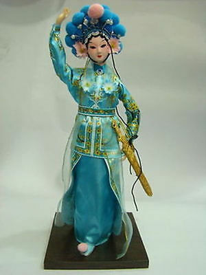 Oriental Broider Doll,Chinese Old style figurine China doll girl statue
