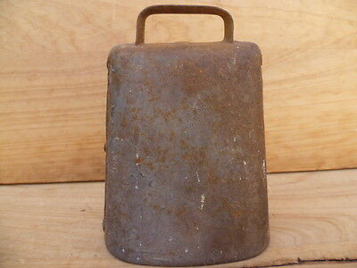 Antique Old Metal Steel, Hand Made Sheep, Cow, Goat Bell, Old Bell (C395)
