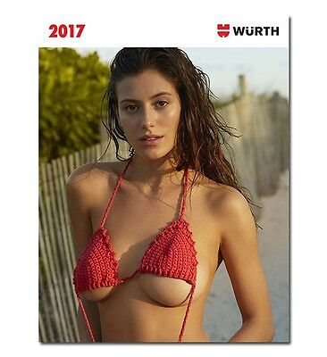 Wurth 2017 Calendar Erotic Bikini  Photo Models Ladies