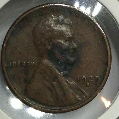 1929S Lincoln Wheat Penny/cent (#a1-11)