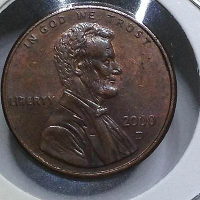 2000D Lincoln Memorial Penny/cent (#a1-16)