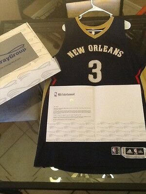 Omer Asik New Orleans Pelicans Game Used NBA Playoff Jersey MeiGray Certificate