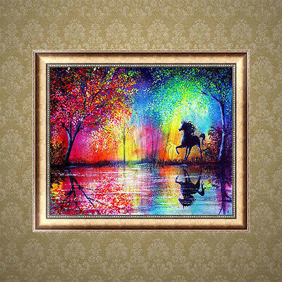 5D Diamond Painting Horse DIY Embroidery Cross Stitch Crafts Home Decor