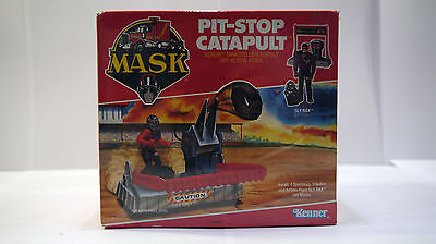 M.A.S.K Pit-Stop Catapult BRD MISB OVP C6 perfect AFA no He-Man, Transformers