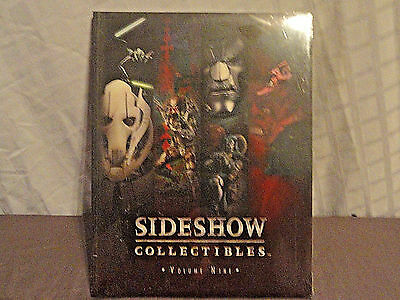 Sideshow Collectibles Volume Nine 2005 Catalog Book Figurines,Statues Star Wars
