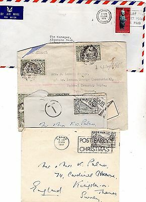 Nigeria Airmail Covers From Collection E4
