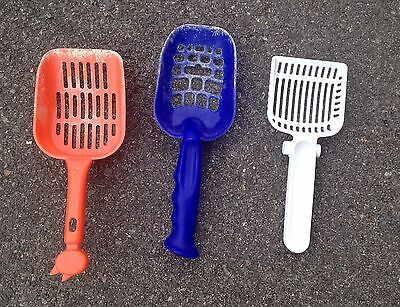 Set of 3 Cat litter poop scoop Cleaning tool Reading / Shinfield